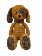Crochet Girls Design Doggie Bowie