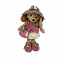 "Crochet G.D Kledingset ""Shopping Girl Pink"""